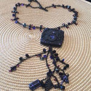 Chicos blue necklace